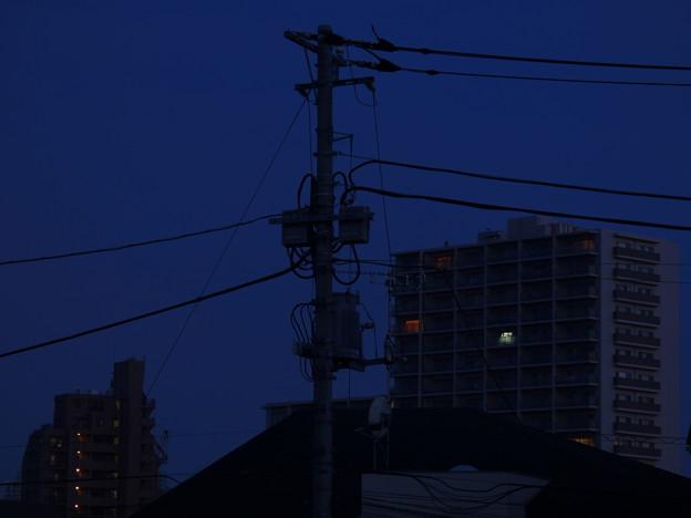 写真: 夜の明け始め 2014.7.6