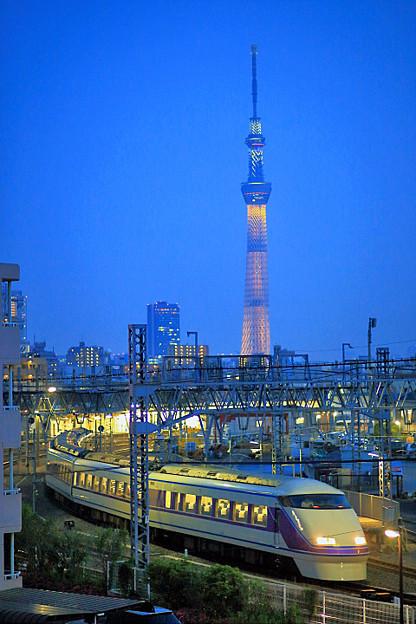 開業2周年記念特別ライティング『2020年東京オリンピックへ!』