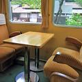 列車のレストラン清流 座席