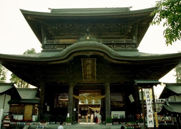 写真: 08阿蘇神社楼門