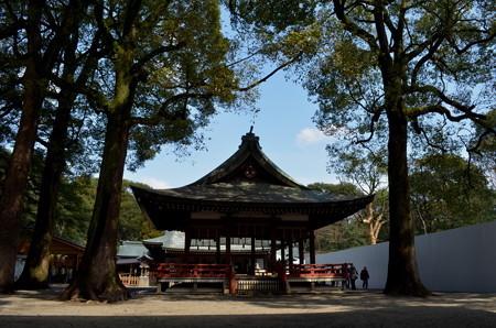 氷川神社(さいたま市)・舞殿