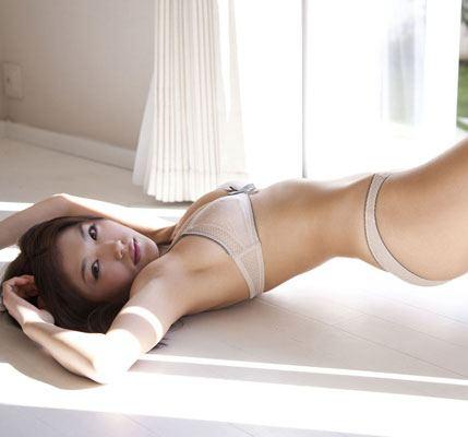 完璧な曲線美のセクシー女性