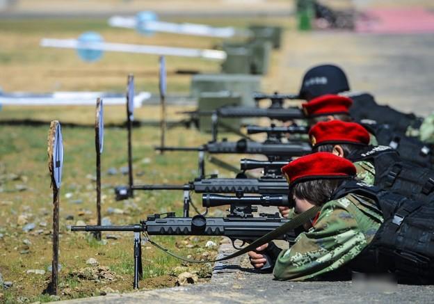 新疆の公安訓練 (2)