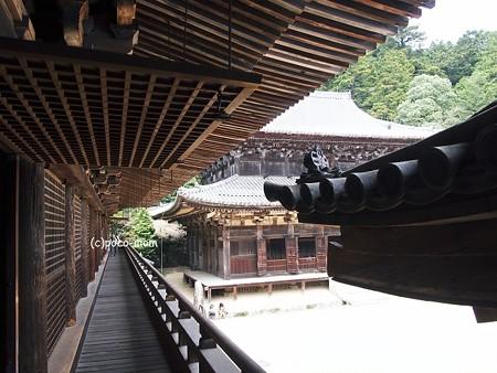 円教寺 食堂、大講堂2014年04月12日_P4120195
