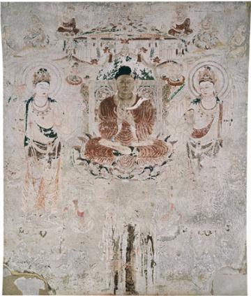法隆寺金堂壁画0003