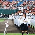 写真: 第90回高校野球県予選大会開会式10