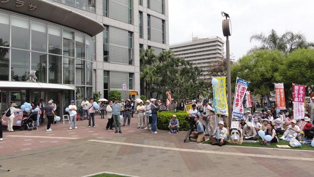 戦争への道を許さない5.25宮崎県民集会8