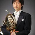 写真: 勝俣泰 かつまたやすし ホルン奏者  Yasushi Katsumata
