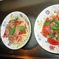 Photos: 20080628晩冷製パスタサラダ