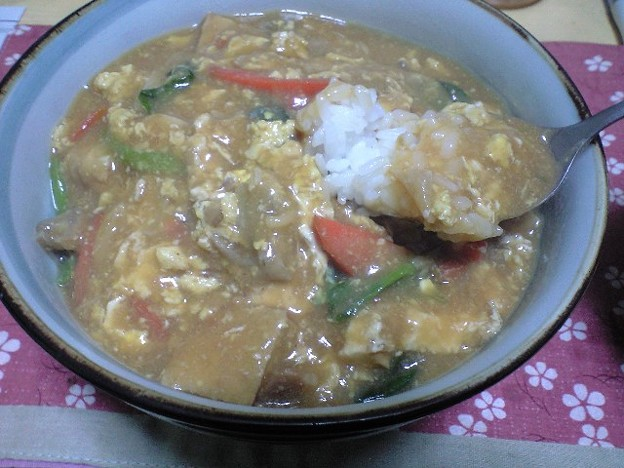 Photos: ラーメンスープ中華丼