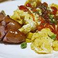 Photos: ソーセージと卵