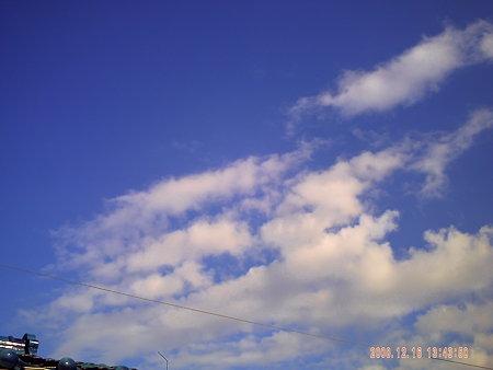 青いなぁ。