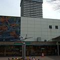 写真: 都営地下鉄新宿線「船堀駅(ふなぼりえき)」 さすが金魚の3大産地!