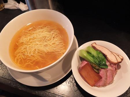 担担麺 龍馬軒 鶏塩麺 ¥800