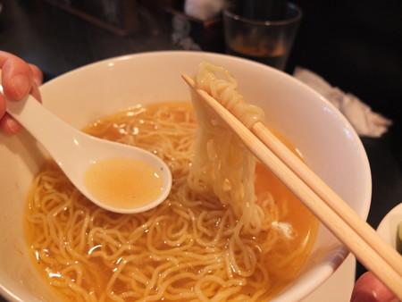 担担麺 龍馬軒 鶏塩麺 麺などの様子