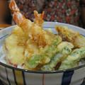 写真: 海老天丼