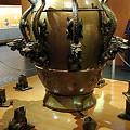 写真: 古代中国の地震探知機