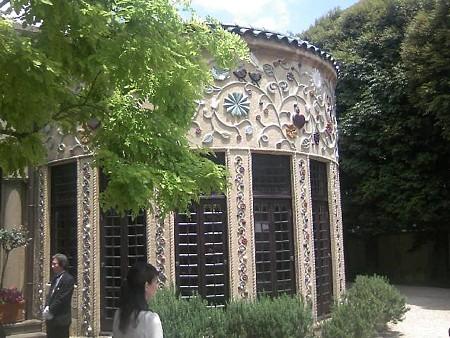 小笠原伯爵邸のシガールーム外壁その1
