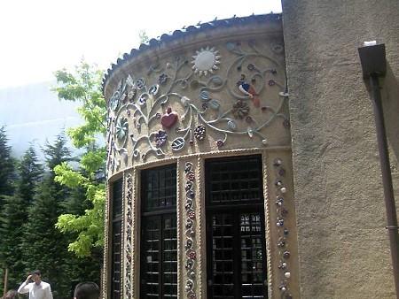 小笠原伯爵邸のシガールーム外壁その2