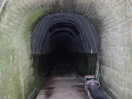 隧道の中の様子