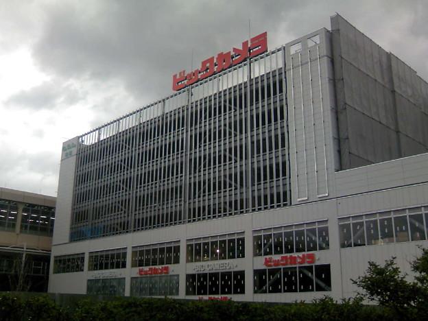 写真: CoCoLo南館外装工事終わり?