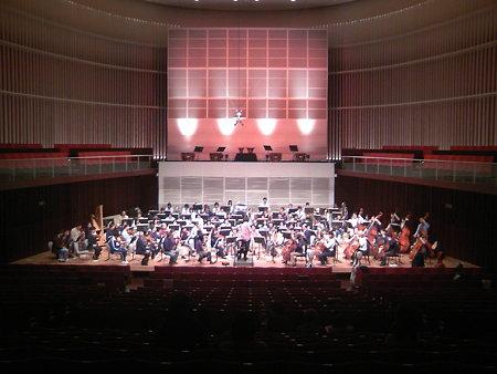 ふれあいコンサート2008リハーサル風景