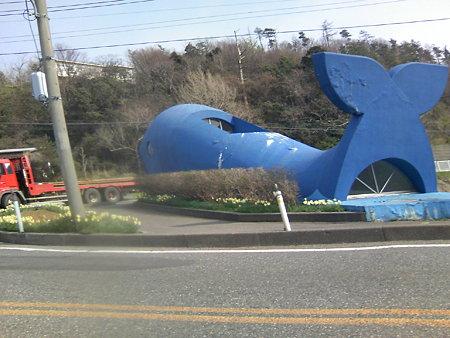 鯨波交差点-クジラ