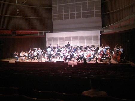 長岡交響楽団第49回定期演奏会リハーサル風景