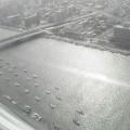 写真: 朱鷺メッセ展望台から見た風景(1)