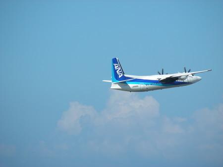 新潟発伊丹行きの飛行機