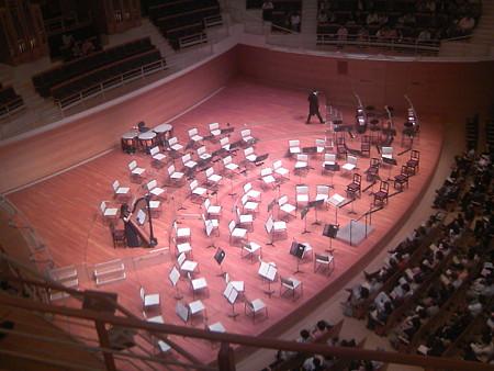 フランス国立ロアール管弦楽団の配置