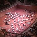 写真: フランス国立ロアール管弦楽団の配置