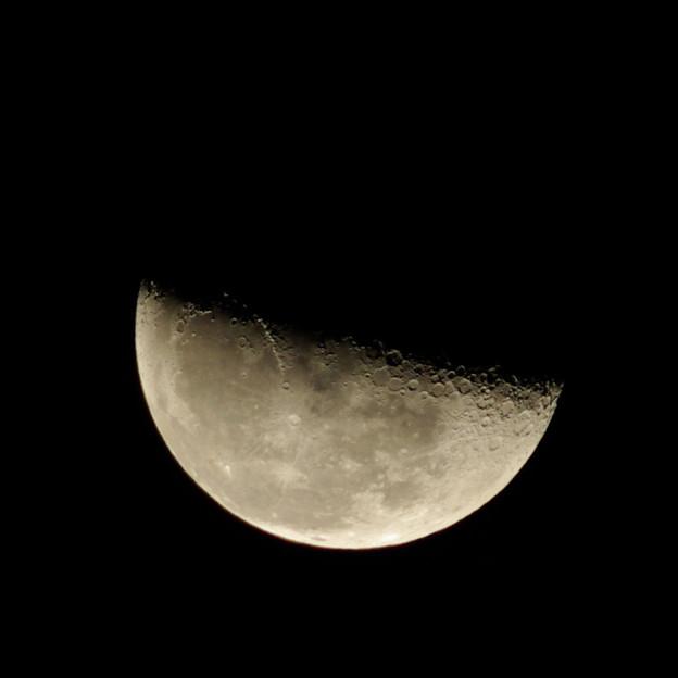 12月2日午前1時 下弦の月