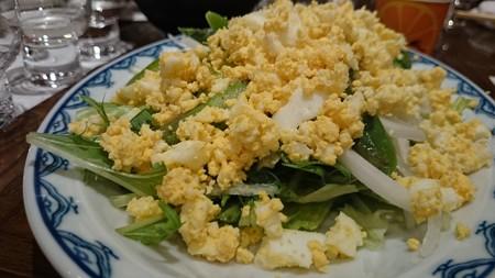 春のミモザ・サラダ