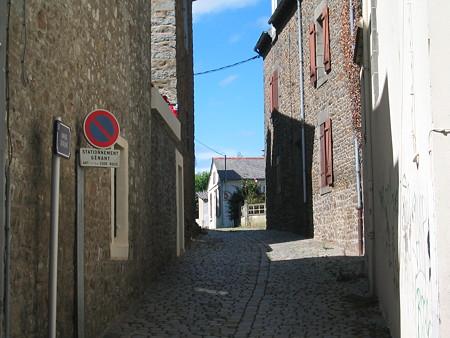 ブルターニュのとある街の風景1