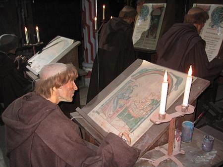モン・サン.ミッシェルにて 修道士の生活