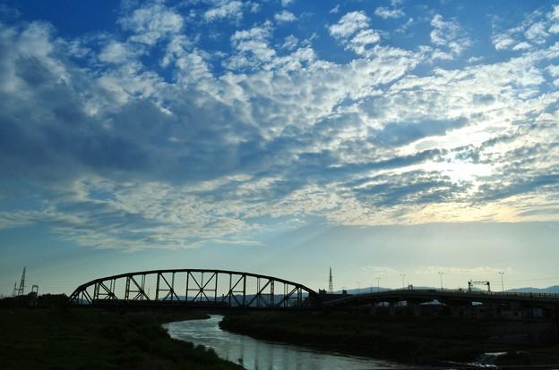 Photos: 雲悠々 電車ゴトゴト ソネフォト忌