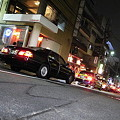 Photos: 坂道の車列