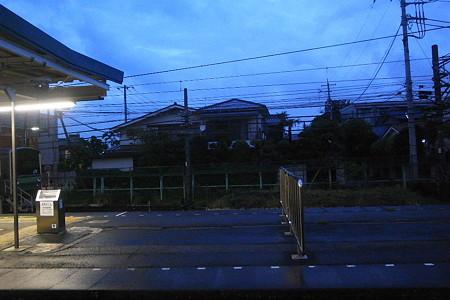 車窓から・暮駅
