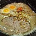 Photos: 久楽 白味噌味玉ラーメン