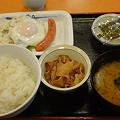 Photos: 松屋 ソーセージエッグ定食
