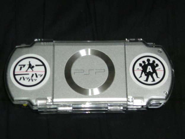 写真: PSP裏面