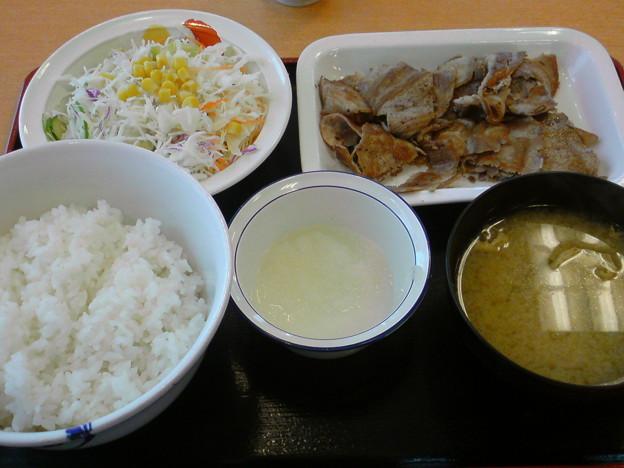 写真: 松屋 豚焼肉定食ダブル