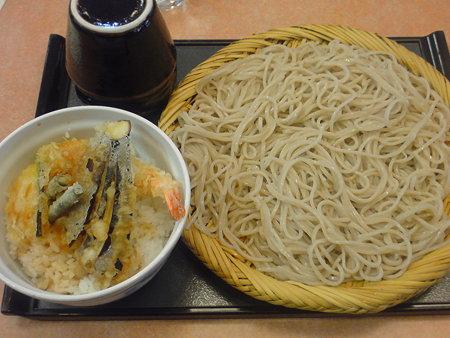 信州庵 味定天丼(そば大盛り)