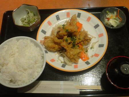 いろはにほへと 若鶏竜田揚げ定食