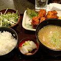 Photos: とりの介 唐揚げ豚汁定食