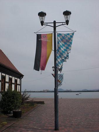 旗&琵琶湖