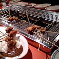 自分で揚げる串カツ1