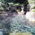 写真: 下呂湯之島館 湯は清澄な感じ