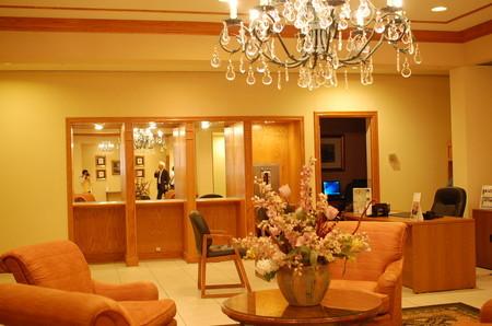 Crowne Plaza Hotel( PITTSFIELD-BERKSHIRES)フロント前